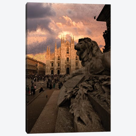Duomo Canvas Print #ENZ89} by Enzo Romano Canvas Wall Art