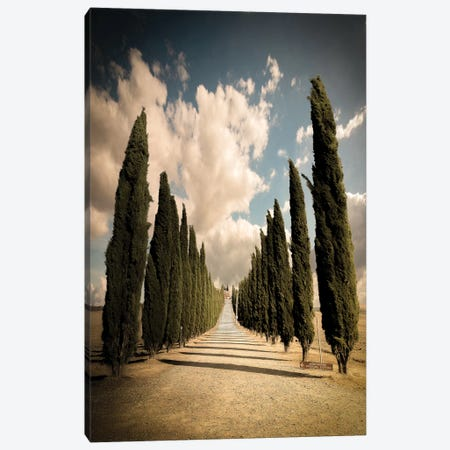 Val D'Orcia Canvas Print #ENZ92} by Enzo Romano Canvas Art Print