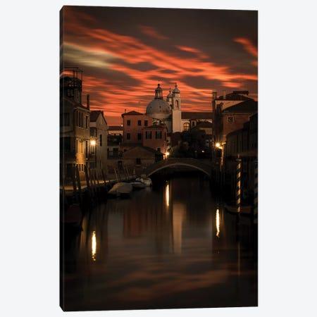 Venezia Canvas Print #ENZ93} by Enzo Romano Art Print