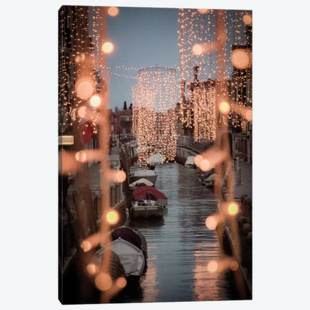 Venezia Luci II Canvas Print #ENZ94} by Enzo Romano Canvas Wall Art