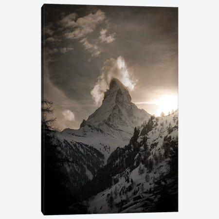 Zermatt Canvas Print #ENZ95} by Enzo Romano Canvas Artwork