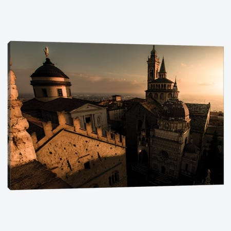 Bergamo Alta I Canvas Print #ENZ96} by Enzo Romano Canvas Artwork