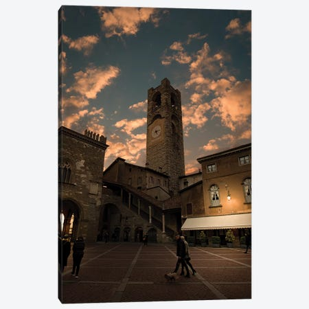 Bergamo Alta II Canvas Print #ENZ97} by Enzo Romano Canvas Artwork