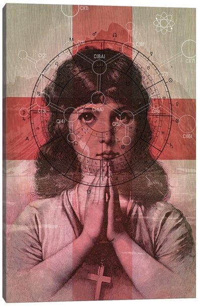 The Christian Girl Canvas Art Print