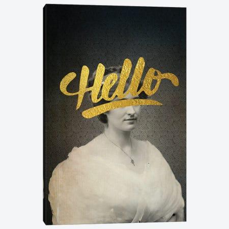 Hello Canvas Print #EOM23} by Elo Marc Canvas Wall Art