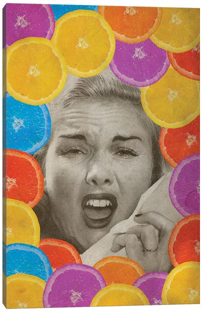Citrus Muss Canvas Art Print