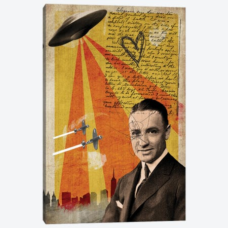 Abducted Canvas Print #EOM66} by Elo Marc Canvas Print