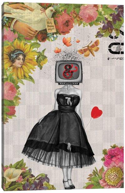 Candy Girl Canvas Art Print