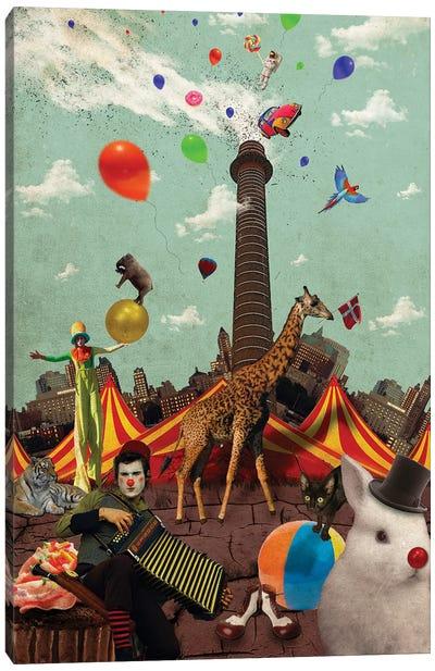 Circus Canvas Art Print