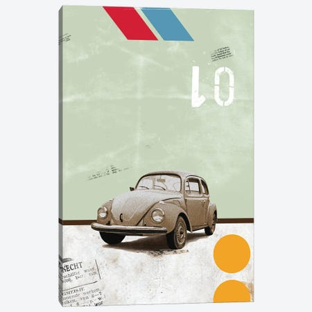 The Beetle Canvas Print #EOM87} by Elo Marc Canvas Print