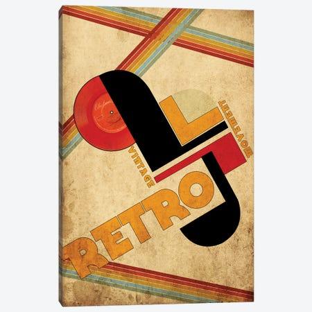Vintage Retro Movement Canvas Print #EOM89} by Elo Marc Canvas Artwork