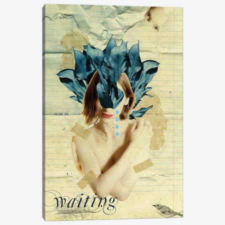 Waiting Canvas Print #EOM90} by Elo Marc Art Print