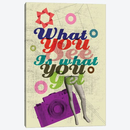 What You See Is What You Get Canvas Print #EOM93} by Elo Marc Canvas Print