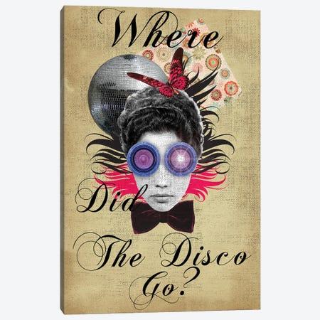 Where Did The Disco Go Canvas Print #EOM94} by Elo Marc Canvas Artwork