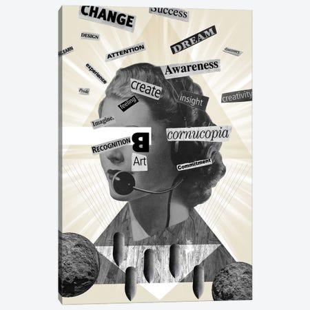 Words Of Mass Destruction Canvas Print #EOM95} by Elo Marc Canvas Artwork