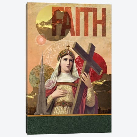 Rise Of Mary Canvas Print #EOM98} by Elo Marc Canvas Print