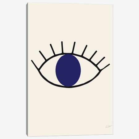 Abstract Eye Canvas Print #EOR1} by Eleanor Stuart Canvas Art Print