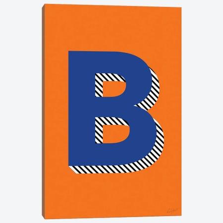 Letter B Canvas Print #EOR22} by Eleanor Stuart Canvas Print