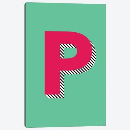 Letter P Canvas Print #EOR36} by Eleanor Stuart Canvas Print
