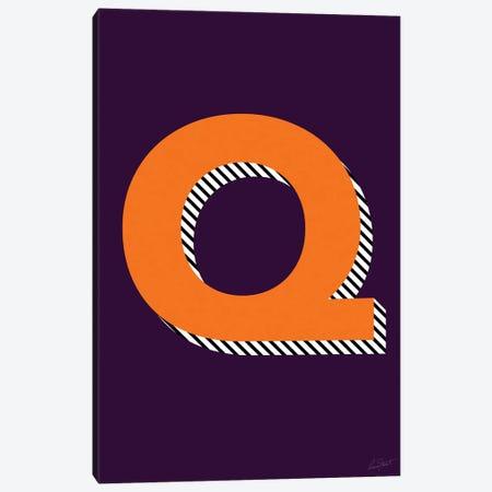 Letter Q Canvas Print #EOR37} by Eleanor Stuart Canvas Print