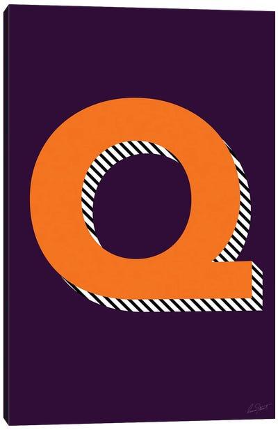 Letter Q Canvas Art Print
