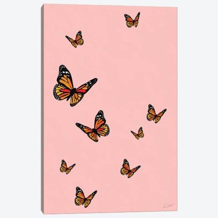 Butterflies Canvas Print #EOR48} by Eleanor Stuart Canvas Art Print