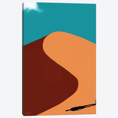 Desert Shadow Canvas Print #EOR51} by Eleanor Stuart Canvas Art