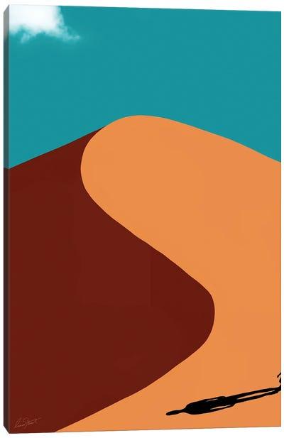 Desert Shadow Canvas Art Print