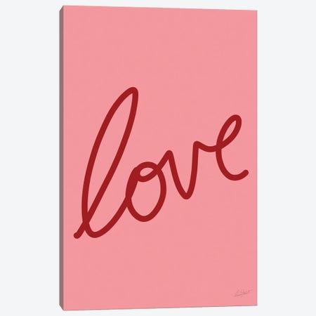 Love Canvas Print #EOR55} by Eleanor Stuart Art Print