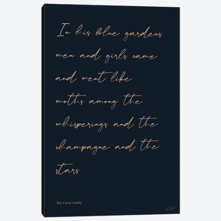 The Great Gatsby Canvas Print #EOR60} by Eleanor Stuart Canvas Art Print