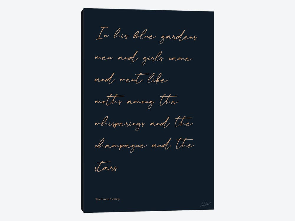 The Great Gatsby by Eleanor Stuart 1-piece Canvas Print