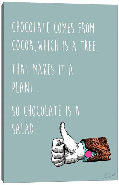 Chocolate Salad Canvas Art Print