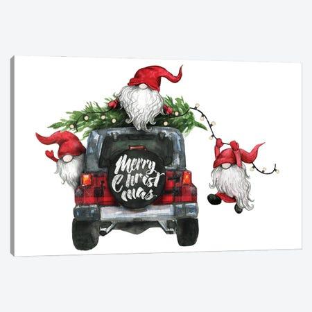 Gnomes Christmas I Canvas Print #EPG36} by Ephrazy Graphics Canvas Print