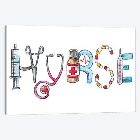 Nurse Canvas Print #EPG82} by Ephrazy Graphics Canvas Print