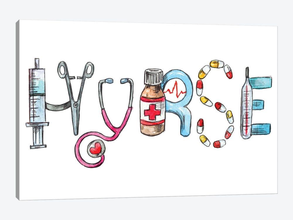Nurse by Ephrazy Graphics 1-piece Canvas Print