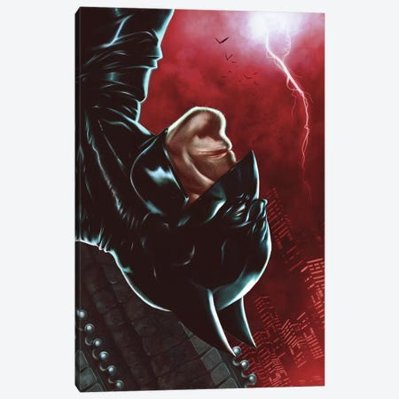 Dark Knight Canvas Print #EPP11} by Alvin Epps Art Print