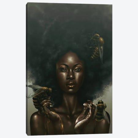 Honeycomb Canvas Print #EPP15} by Alvin Epps Canvas Artwork