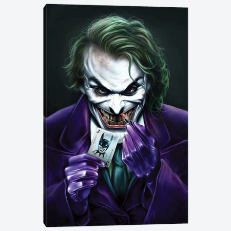 Joker Canvas Print #EPP16} by Alvin Epps Canvas Art