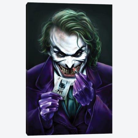 Joker Canvas Print #EPP16} by Alvin Epps Canvas Art
