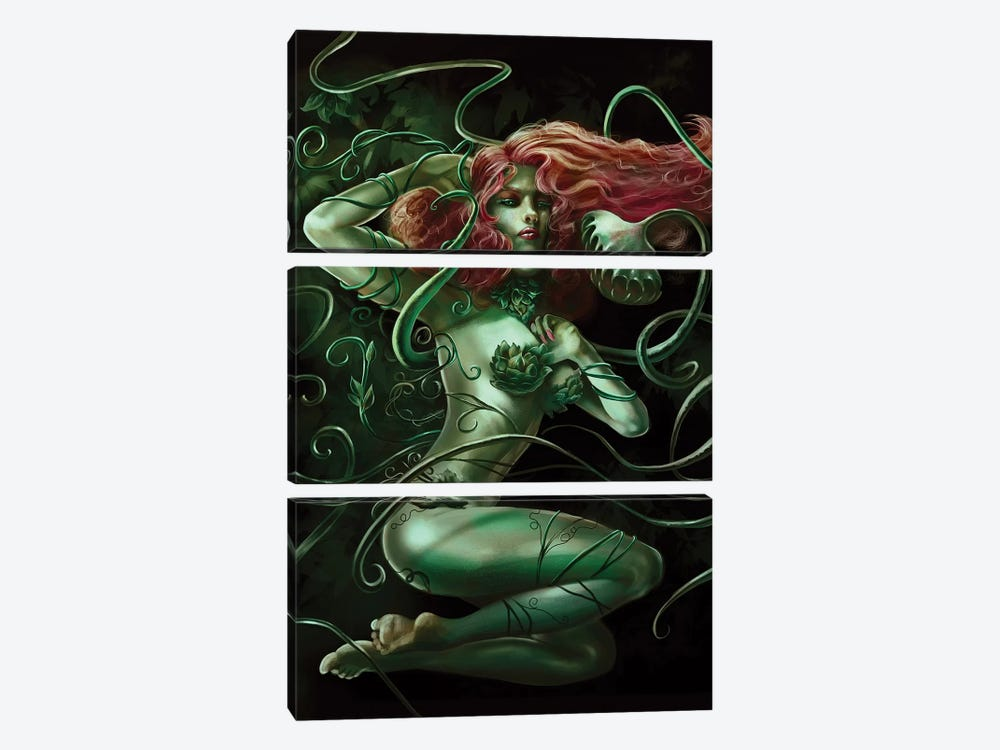 Poison 3-piece Canvas Art Print