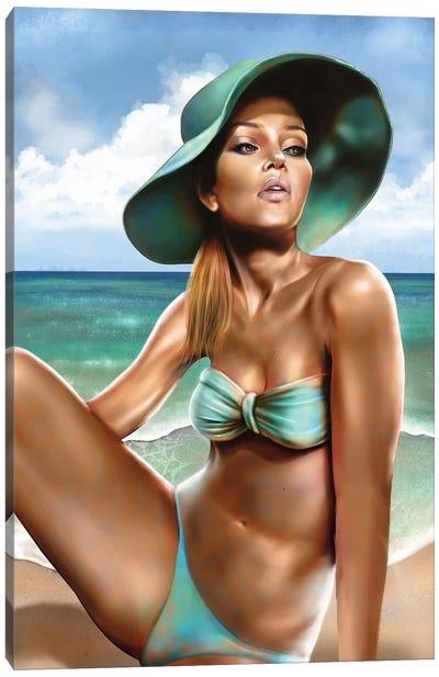 Summer Canvas Art Print
