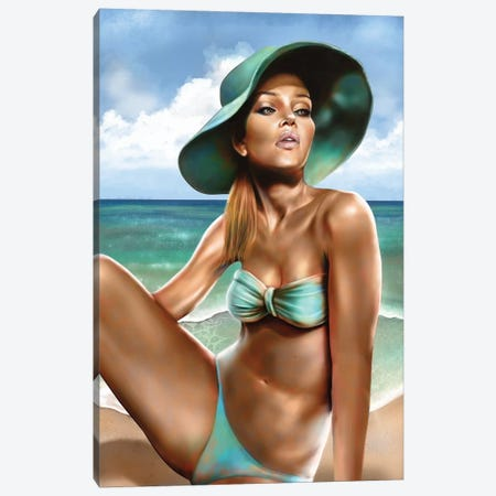 Summer 3-Piece Canvas #EPP22} by Alvin Epps Canvas Artwork