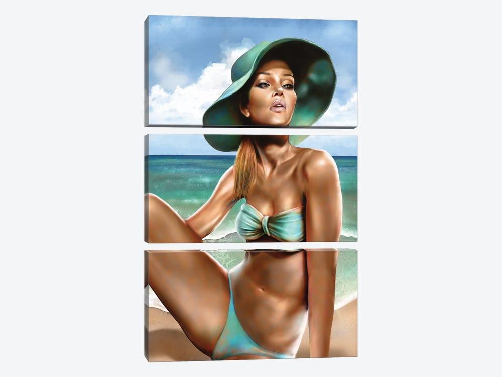 Summer by Alvin Epps 3-piece Canvas Print