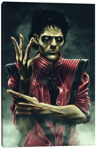 Thriller Canvas Art Print