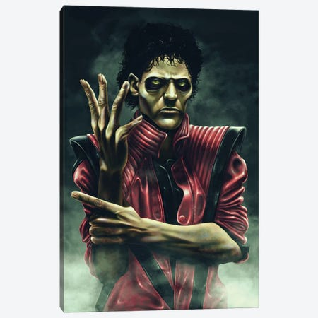 Thriller Canvas Print #EPP27} by Alvin Epps Art Print