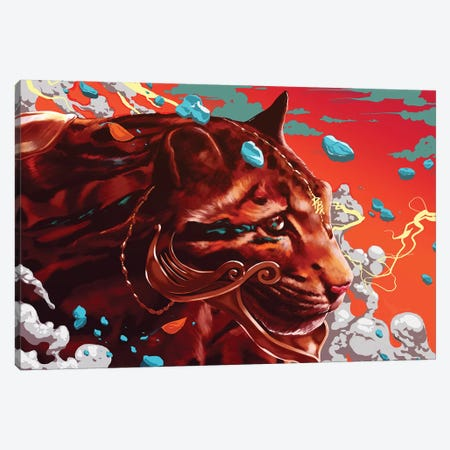 Beastmode Canvas Print #EPP2} by alvinpbx Canvas Artwork