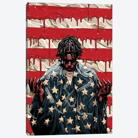 Scars & Stripes Canvas Print #EPP30} by Alvin Epps Canvas Print