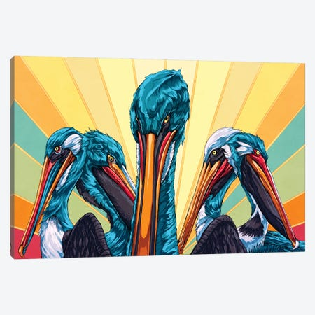 Birds Of A Feather Canvas Print #EPP31} by Alvin Epps Canvas Print
