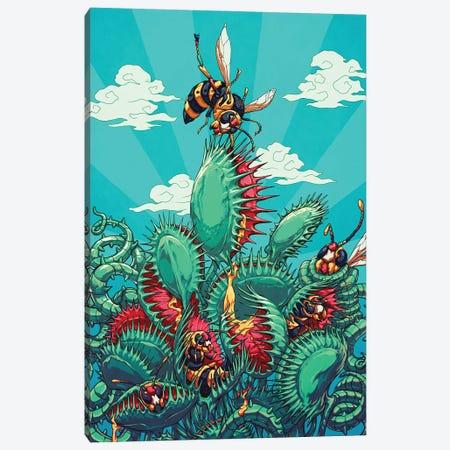Flytrap Canvas Print #EPP32} by Alvin Epps Canvas Art Print