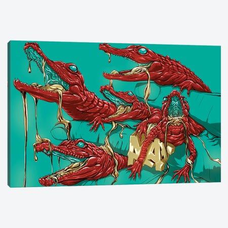 Bayou Boys Canvas Print #EPP37} by Alvin Epps Canvas Wall Art